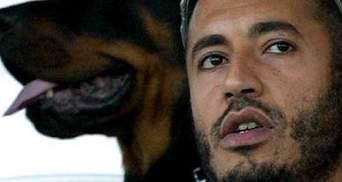 Интерпол выдал ордер на арест сына Каддафи