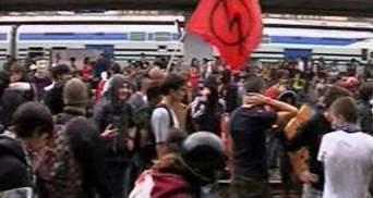 Итальянские студенты протестуют против уменьшения расходов на образование