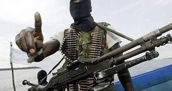 Сомалийские пираты захватили судно с украинцами на борту