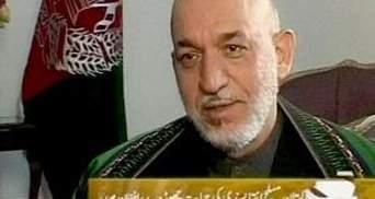 Карзай: Афганістан стане на бік Пакистану у війні проти США