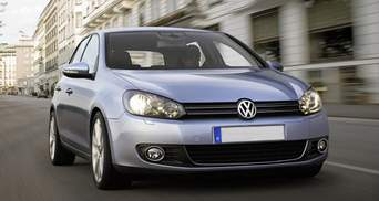 Volkswagen Golf визнано найпопулярнішим авто серед європейців