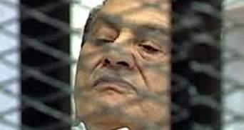 Суд над Мубараком отложили из-за претензий к судье