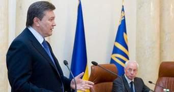 Янукович уволил губернаторов Львовщины и Запорожья