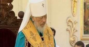 УПЦ МП заявляет об улучшении состояния митрополита Владимира