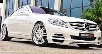 Brabus представило самое мощное купе CL 600