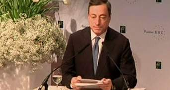 Драгі закликав ЄC поквапитись із виділенням коштів на боротьбу з кризою