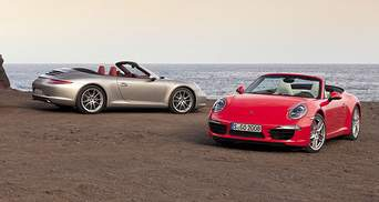 Porsche 911 Carrera стал кабриолетом