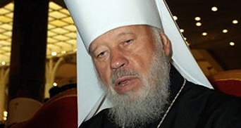 Тимошенко молится за митрополита Владимира