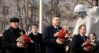 Президент вшанував пам'ять жертв голодоморів та тоталітаризму в Україні