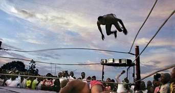 У Конго набирає популярності театралізована боротьба