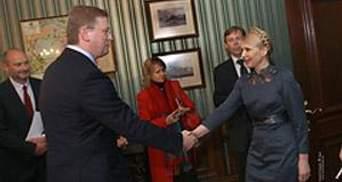 Фюле подвел итоги беседы с Януковичем и Тимошенко