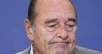 Паризький суд засудив Жака Ширака до двох років умовно