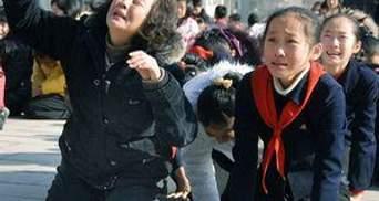 Північна Корея плаче за вождем (ФОТО)