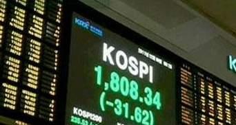 Азійські ринки демонструють падіння на тлі новин про смерть Кім Чен Іра