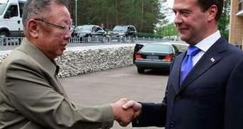 Медвєдєв висловив співчуття у зв'язку зі смертю Кім Чен Іра
