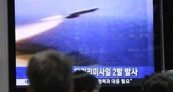 Північна Корея провела ракетні випробування
