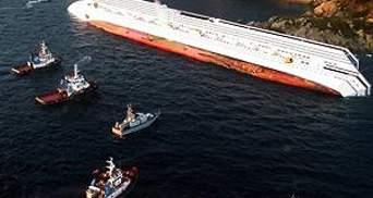 Рятувальники призупинили роботи на Costa Concordia
