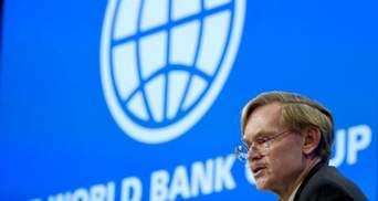 Світовий Банк погіршив прогноз зростання глобальної економіки в 2012 році