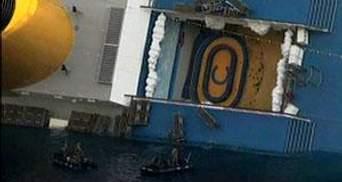 """На лайнере """"Costa Concordia"""" возобновили спасательные работы"""
