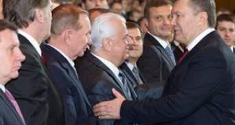 Президенти України відвідали святковий концерт
