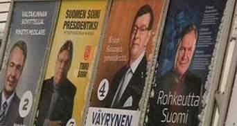 У Фінляндії відбудеться другий тур президентських виборів