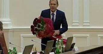 Урядовці урочисто випровадили Андрія Клюєва в РНБО