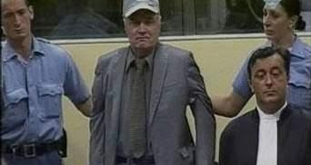 Початок суду над Младічем перенесли на 14 травня