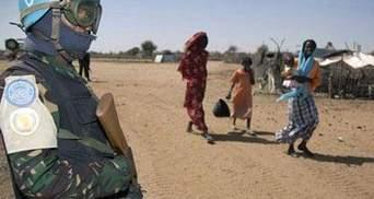 Бойовики в Дарфурі захопили 52 миротворців ООН