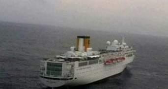 """Лайнер """"Коста Аллегра"""" втратив хід у Індійському океані"""