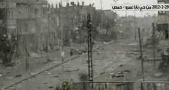 Урядові війська Сирії частково вибили повстанців з міста Хомс