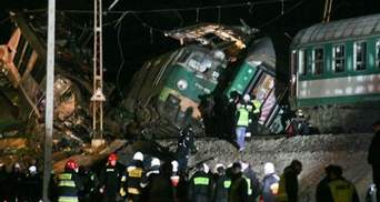 Шестеро українців постраждало у залізничній катастрофі в Польщі