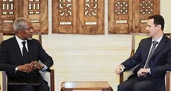 Кофі Аннан знову зустрівся з Башаром Асадом