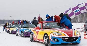 В Росії відбувся Mazda Ice Race 2012