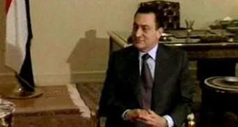 Экс-президент Египта Хосни Мубарак пишет мемуары