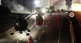 Восьмеро дітей після аварії у Швейцарії повертаються у Бельгію