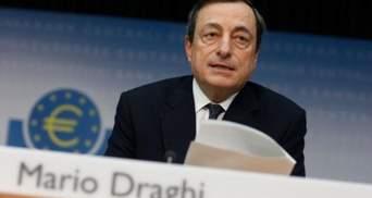 Головний банкір Євросоюзу вважає, що найжахливіше позаду