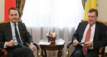 Грищенко із Сікорським обговорив питання двосторонніх відносин