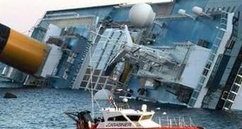 Із затопленого Costa Concordia відкачали пальне