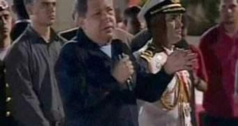 Уго Чавес вылетел на Кубу для прохождения курса радиотерапии