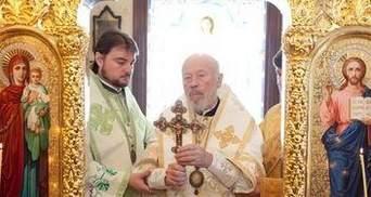 Митрополит Владимир впервые после болезни провел богослужение