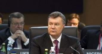 Янукович: Україна виконала зобов'язання по урану