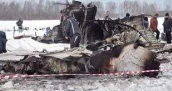 Свідки кажуть, що незадовго до падіння ATR-72 з двигунів йшов дим