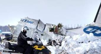 Двигуни ATR-72, працювали аж до удару об землю