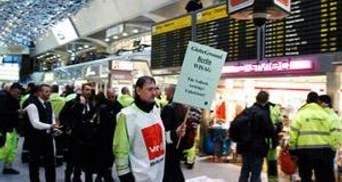 Завдяки страйкам працівникам німецьких аеропортів підняли зарплати