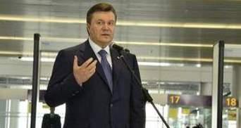 Янукович: Ямкові ремонти — це страхіття