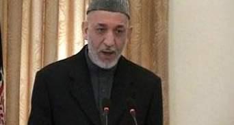 Карзай пропонує провести вибори президента Афганістану в 2013 році