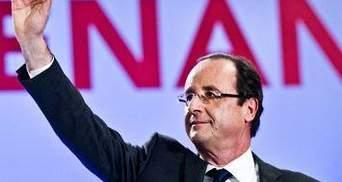 Президентом Франції обрали Франсуа Олланда