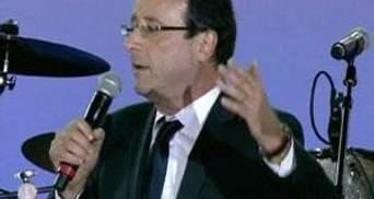 Світові лідери вітають новобраного президента Франції