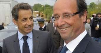 Саркозі передасть владу Олланду 15 травня