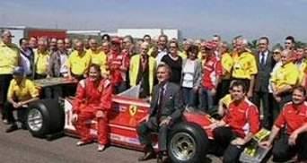 Перегони: Ferrari вшанувала пам'ять Жиля Вільньова